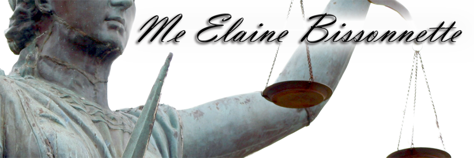 Avocat Montreal | Me Elaine Bissonnette